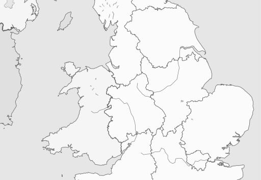 Map of Scotland region